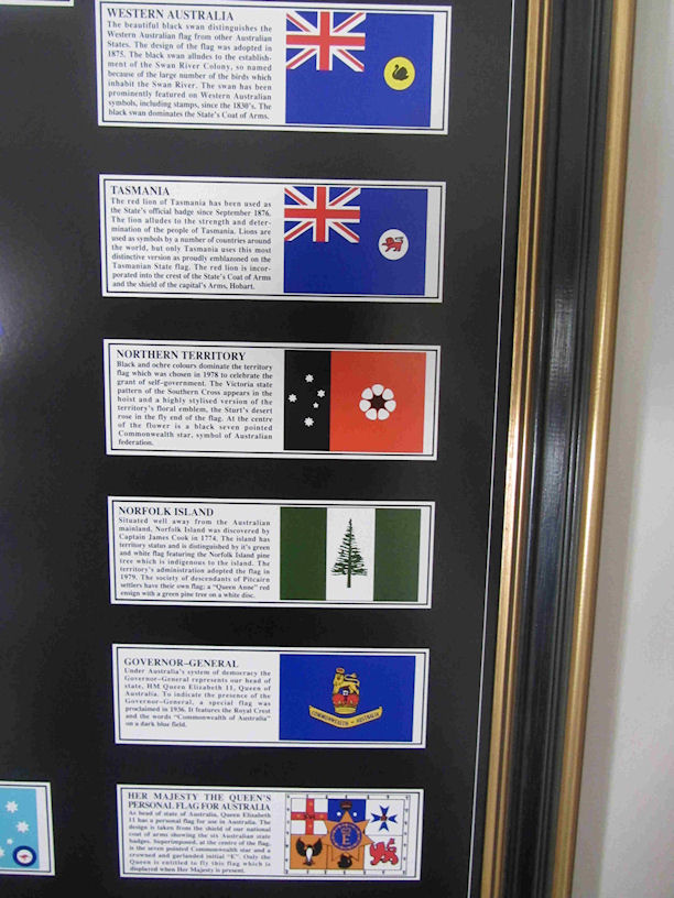 State and Territory Flags Detail