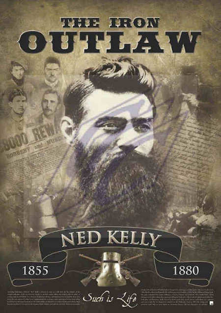 A Magnificent Ned Kelly Art Print