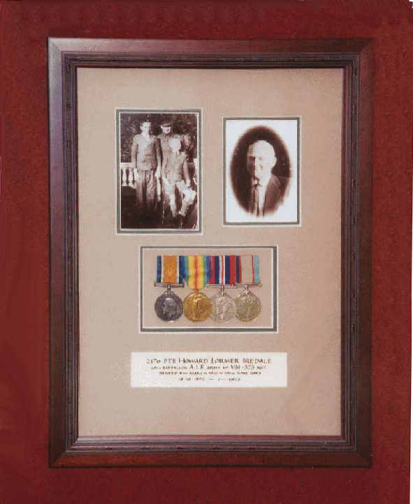 Medals and Photos