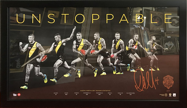UNSTOPPABLE Dusty Poster